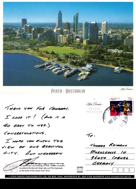 Postcard from Perth